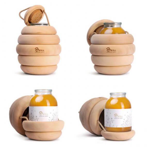 diseño packaging miel