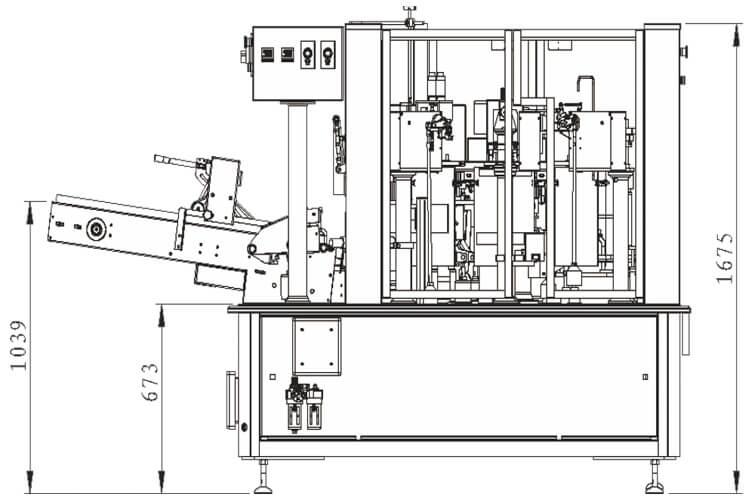 Máquina Estándar Rotativa AP-8BT